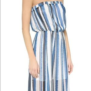 BB Dakota Dresses - BB Dakota Striped Maxi Dress